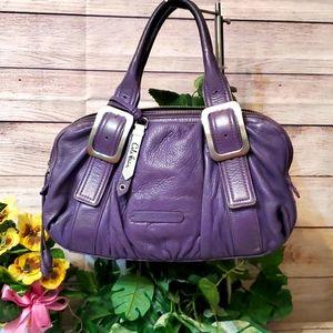 Cole Haan Purple Leather Handbag